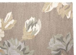 Modern Floral Area Rugs Beautiful Wool Area Rug 8x10 Contemporary Modern Floral Handmade Brown