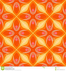 pattern with bold geometric shapes in 1970s style royalty free