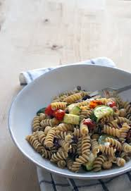 Cold Pasta Salad Dressing Antipasto Pasta Salad With Chickpeas Olives And Roasted
