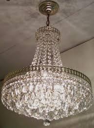 Vintage Crystal Chandeliers Vintage Crystal Chandelier