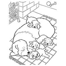 30 free printable puppy coloring pages