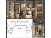 armadio angolare misure cabina armadio angolare a tre pareti san martino