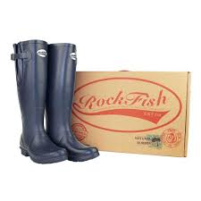 rockfish durable men u0027s wellies classic tall our navy blue sale