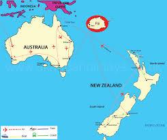 Map Of Fiji Map Of Australia New Zealand And Fiji Partywithorangecounty