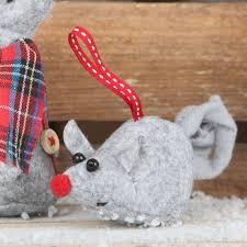 Christmas Mice Decorations Christmas Mice Decorations Christmas Mouse Etsylittle Christmas