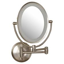 lighted makeup mirror 10x wall mounted mugeek vidalondon