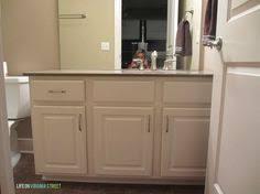 Painting Bathroom Vanity by Bathroom Vanity Makeover Using Country Chic Paint Bathroom