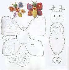 best 25 butterfly felt ideas on felt butterfly