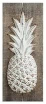 Pineapple Wall Sconce Embossed Zinc And Wood Pineapple Wall Decor Tropical Kids Wall