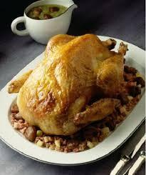 cuisiner un chapon farci chapon farci aux morilles et au foie gras plat de noël notre