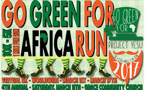 2017 go green for africa st patrick u0027s day run project yesu
