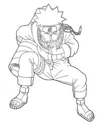 naruto holds rolls naruto coloring pages naruto