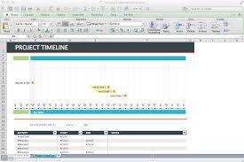 Excel Timeline Templates Project Management Timeline Template Excel
