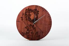 madeheart u003e handmade wooden clock home decor housewarming present