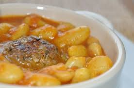 cuisiner les haricots blancs frais loubia haricots blancs à la marocaine les recettes de la