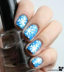 polish pals easiest snowflake tutorial