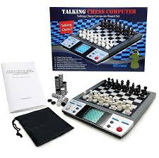 amazon com electronic talking chess board games with 8 in 1