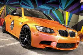 Bmw M3 Yellow Green - hexis variochrome bmw m3 one soul graphics