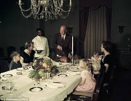 presidential turkey time a look back at the families