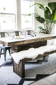 Dining Room Table With Chairs And Bench Best 25 Modern Dining Benches Ideas On Pinterest Modern Dining