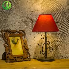 online get cheap table lamp bedroom aliexpress com alibaba modern led table lamp colorful lampshade home lighting reading study light bedroom bedside lights home decoration