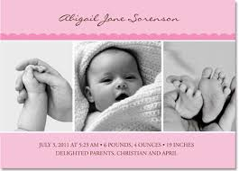 birth announcements pink baby girl baby girl birth announcements by