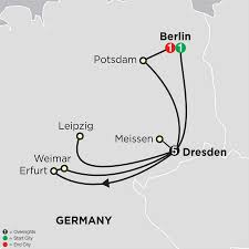 Weimar Germany Map by Saxony Germany Travel Packages Cosmos Tours