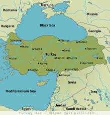 ankara on world map turkey map