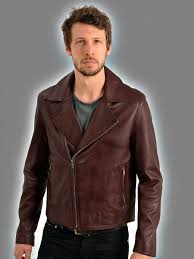 mens leather biker jacket higgs leathers buy brant men u0027s burgundy leather biker jackets