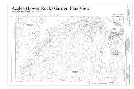Rock Garden Plan File Azalea Lower Rock Garden Plan View Park 2101