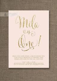 blush pink u0026 gold birthday invitation gold glitter pastel