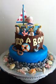 nautical baby shower cakes nautical baby shower cakes ideas party xyz