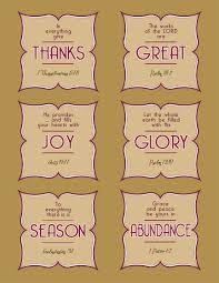 thanksgiving bible verses tags with fall harvest