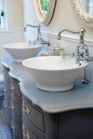 bathroom sink trough sink vessel sink and vanity white vessel