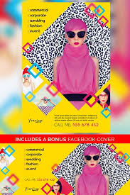 fashion photography multipurpose free flyer template best of flyers