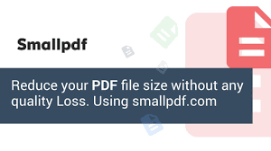 Small Pdf Smallpdf Simple And Easy Way How To Reduce Pdf File Size