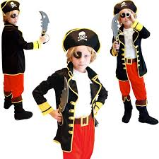 Halloween Costumes Kid Girls 2017 Pirates Caribbean Kids Boys Halloween Costumes Cosplay