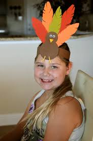 turkey headband turkey hat thanksgiving headband craft for kids