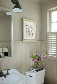 wainscoting bathroom ideas pictures wainscoting bathrooms twilight opalescence glass 1 3 edit