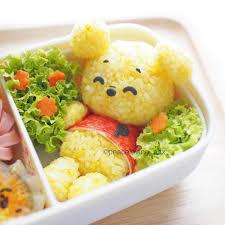 teddy bear rice ball