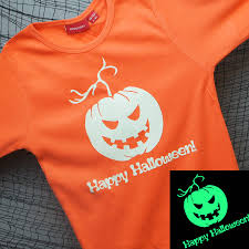 Toddler Halloween Shirt by Personalised Glow In The Dark Halloween T Shirt By Simply Colors