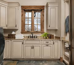 rustic laundry room design beck allen cabinetry