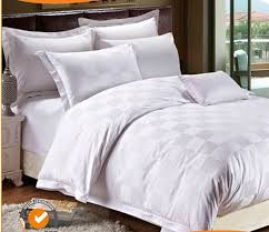 Jacquard Bedding Sets 100 Cotton Check White Bedding Sets Jacquard Bed Sheets Dobby