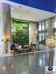 indoor vertical garden the moroccan dream at hotel sofitel essaouira