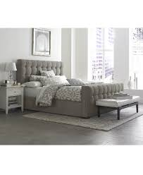 Grey Bedroom White Furniture Bedroom Exciting Tufted Bed By Macys Bedroom Furniture With Table