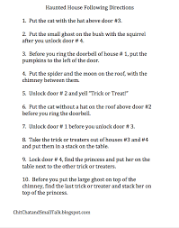 following directions worksheets for middle worksheets