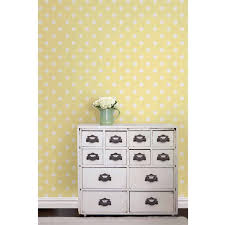 Stick And Peel Wallpaper by Nuwallpaper Yellow Dottie Peel And Stick Wallpaper Walmart Com