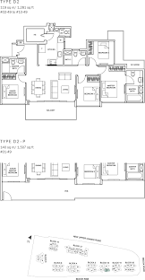 100 sqm to sqft three sleek apartments under 1500 square feet