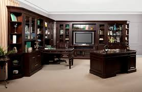 wall library the stanford library wall unit with executive desk 15183
