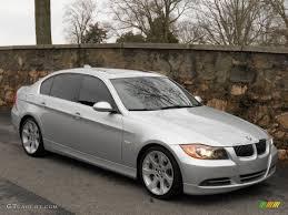 2007 bmw 328i silver titanium silver metallic 2007 bmw 3 series 335i sedan exterior